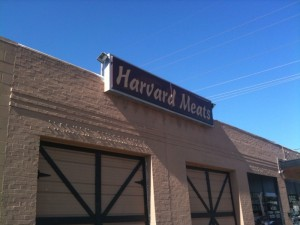 Locally-owned business in midtown Tulsa, Harvard Meats