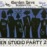 11th Annual Garden Deva Sculpture Company Open Studio Party, Tulsa OK