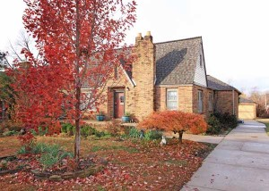 Charming full brick Florence Park bungalow with beautiful landscaping in both front & back