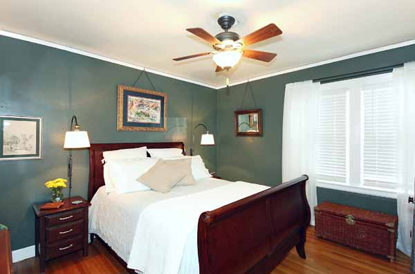Master Bedroom Oversized To Fit Your Furniture; Crown Molding, Baseboards U0026  Ceiling Fans In