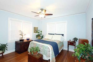 2nd bedroom with much sunlight - spacious and simple