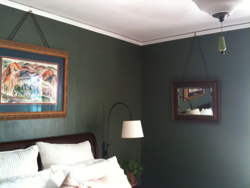 Crown Molding To Hang Pictures Midtown Tulsa Real Estate