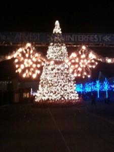 WinterFest entrance