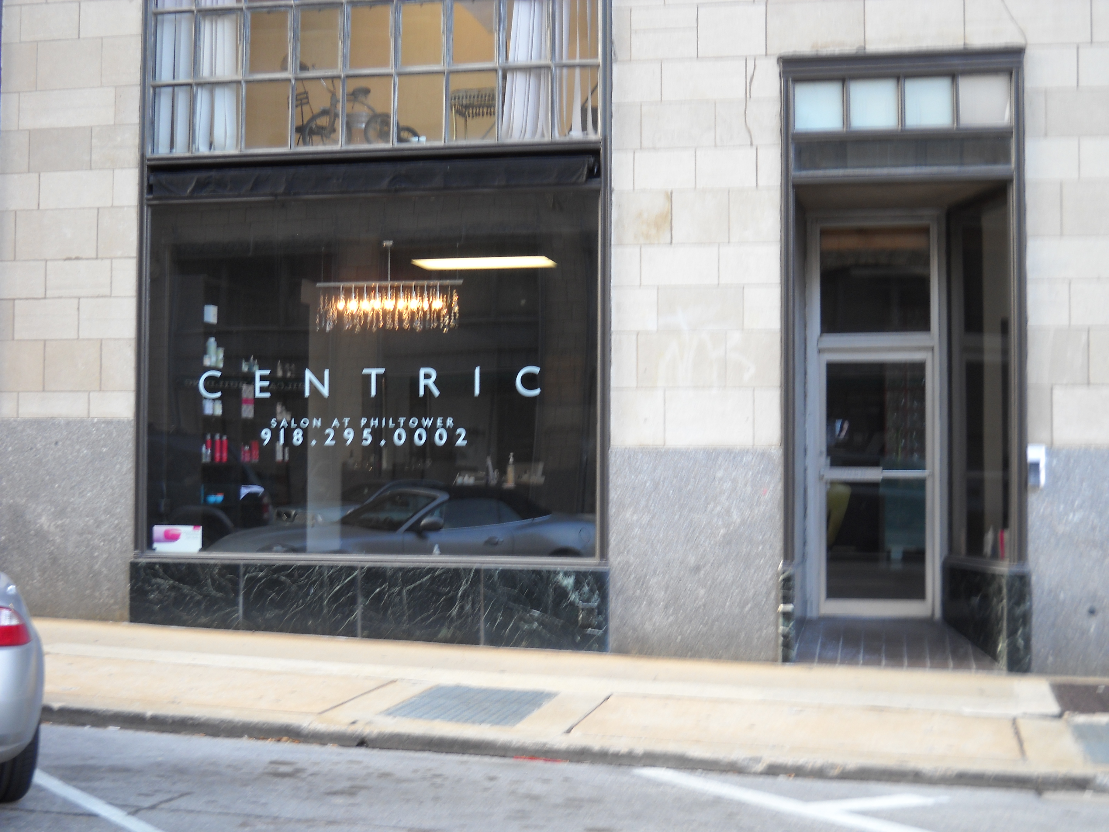 Locally-Owned Full-Service Salon, CENTRIC, the Salon at Philtower, Downtown Tulsa