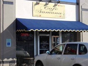 Cafe Samana on Brookside