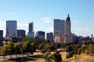 Downtown Tulsa skyline