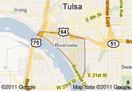 map riverview tulsa