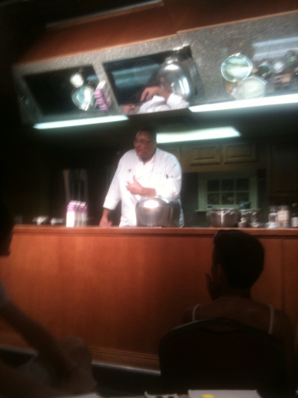 Hilarious chef Kevin!