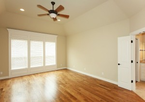 Master bedroom without home staging