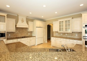 Kitchen without home staging