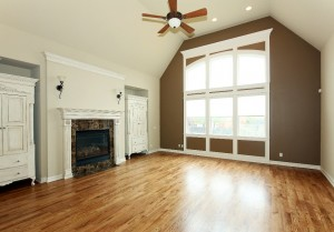 living room without home staging