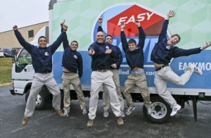 Easy Moves Tulsa moving company enthusiastic employees