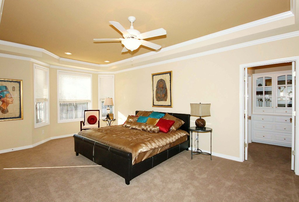 master bedroom on first floor