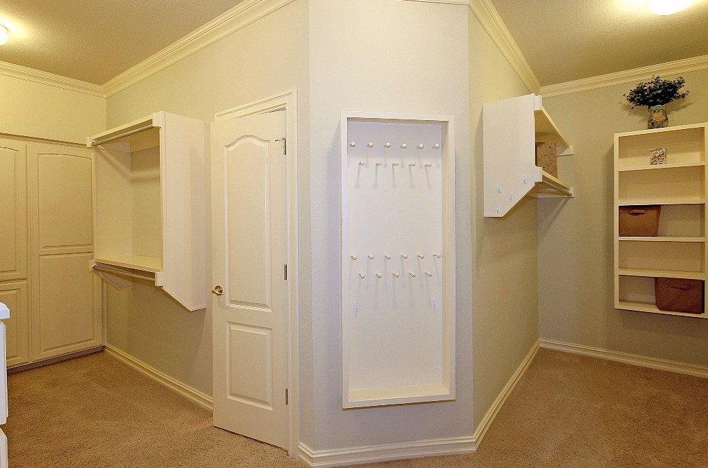 huge walk-in master closet