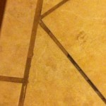 stained grout