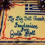 Big Fat Greek fundraiser CAKE