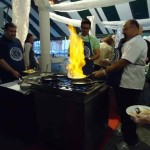 Saganaki at 2012 Tulsa Greek Festival VIP Night!