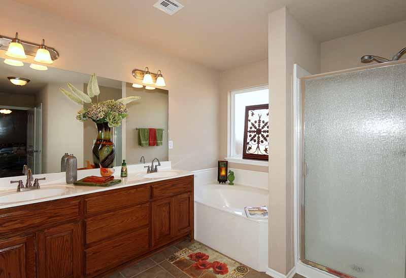 glamour master bathroom