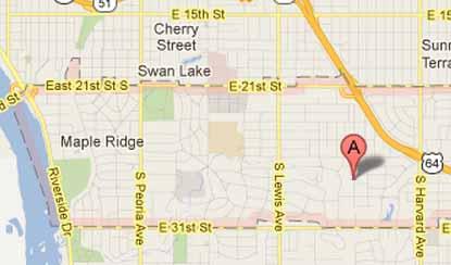 Map zip 74114