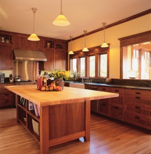 hardwood floors in kitchens