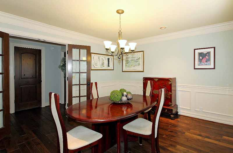 formal dining in home in Sunset Terrace