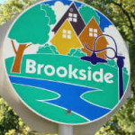 midtown Tulsa Brookside neighborhood sign