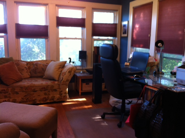 image of Lori office after organization
