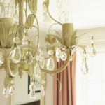 chandelier excluded from home sale