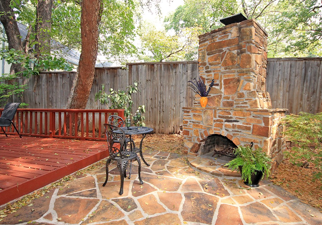 90 fireplace outdoor