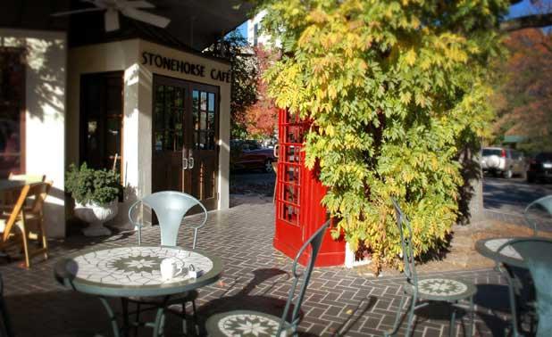 stonehorse cafe restaurant in utica square