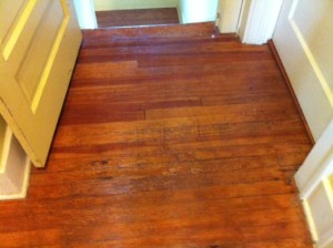 hardwood floor after refinishing
