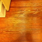 Refinishing and refurbishing hardwood floors with coconut oil