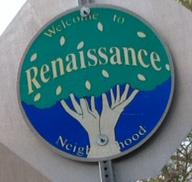 Renaissance midtown Tulsa sign