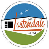 Lortondale logo and sign