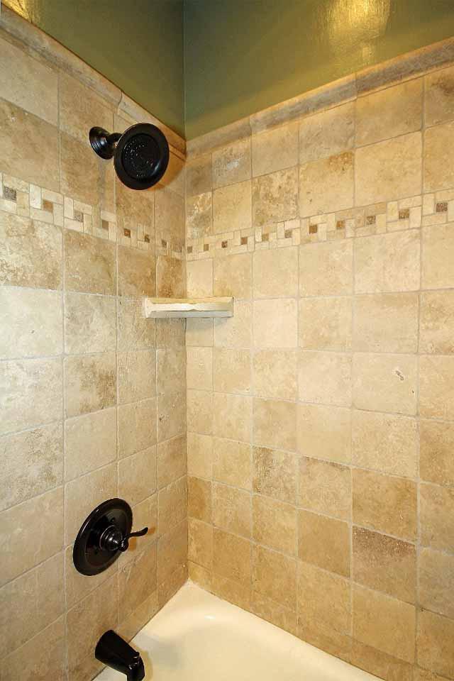 bath hall tiled shower