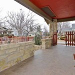 The front porch, entrance and yard – your first impression!