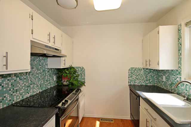 condo kitchen on Riverside Drive