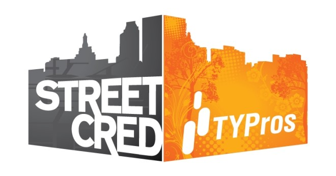 TYPros Street CReD logo