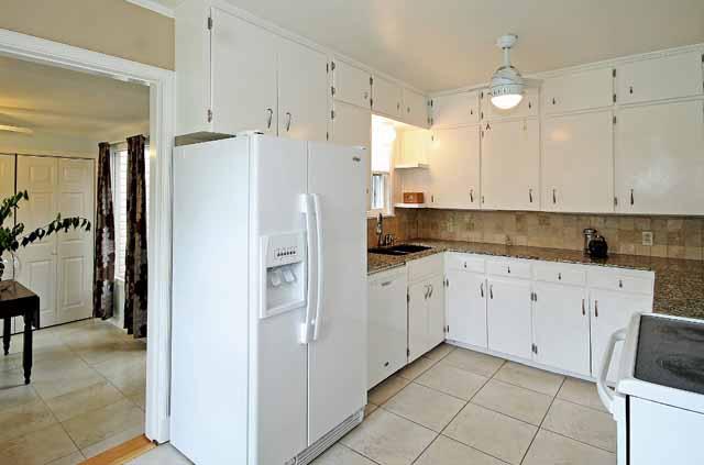 kitchen and sunroom