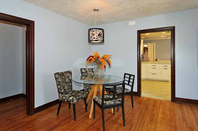 formal dining in midtown Tulsa home for sale