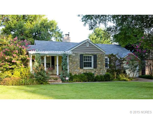 Charming updated 3/2/1 Midtown home close to Utica Sq.  Updated