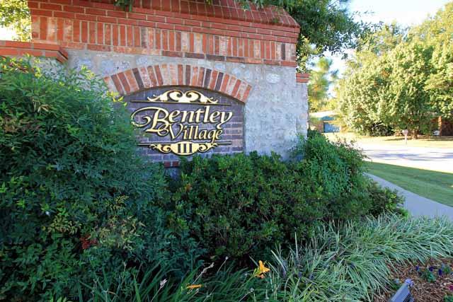 Bentley Village entry