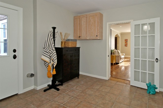 14 utility hobby room off living