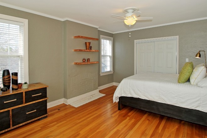 bedrooms up