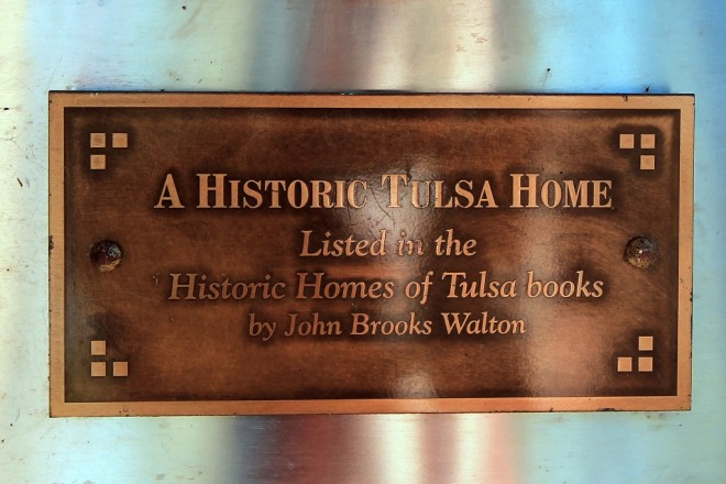 historic home placque