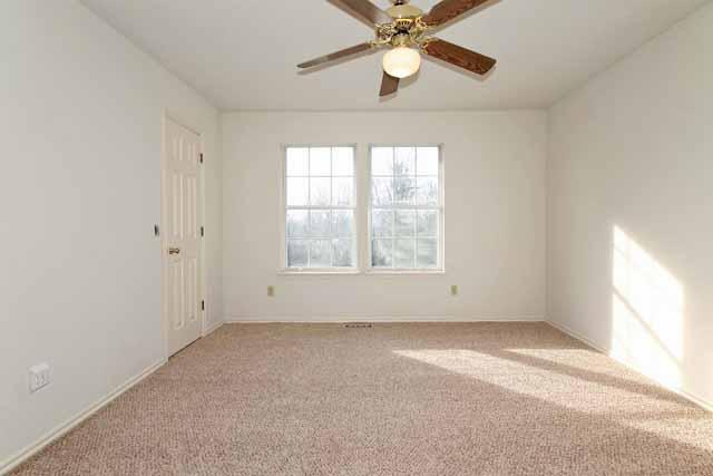 2 bedrooms up