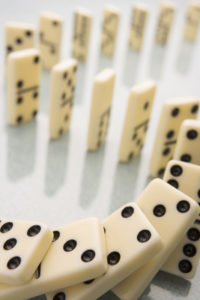 domino closings