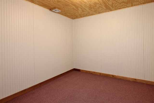 hobby room or storage in basement