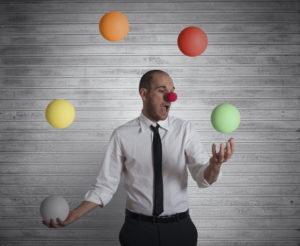 realtors juggle